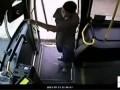 Быдло избивает водителя ...