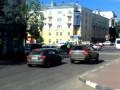 Машина ДПС провалилась под асфальт (Ульяновск 24 июня)