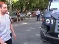 Пьяные десантники на «тигре» устроили ДТП в Москве