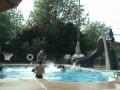 Стритбол в бассейне