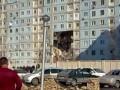 Взрыв и последующее обрушение дома в Астрахани