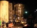 Последствия обрушения пяти этажей здания в Ярославле засняли жители соседнего дома