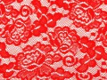8905620-Red-lace-with-pattern-with-form-flower-on-white-background-Stock-Photo