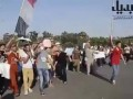 """Pallywood training in Egypt as Muslim Brotherhood """"protesters"""" pose for the cameras"""