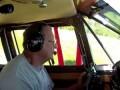 Авиакатастрофа. Вид изнутри кабины.
