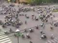 Движение в Индии (перекресток)