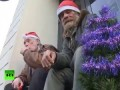 Десятки тысяч французов встретили Рождество на улице