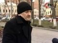Агрессивно настроенные люди под комиссариатом в Харькове