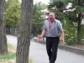 Задержание Новой Полицией пьяного майора милиции (МАТЫ)