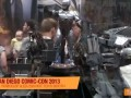 SDCC 2013 Robocop & ED-209 Hot Toys booth preview - itakon.it