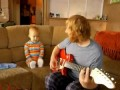 Юный гитарист
