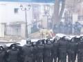 Горящие украинские менты