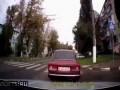 Пазик без тормозов снес пешеходов