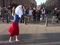 Протест против вторжения войск России в Украину