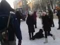 Акция Поклонение Холопов 14 января в Новосибирске