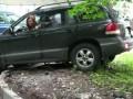 Парковка на газон с разгона -- Russain Parking