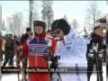 Путин, Медведев и Берлускони катаются на лыжах в Сочи