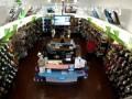 Thug Sucker Punches Female Clerk In Shoe Store