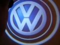 Проекция логотипа Volkswagen