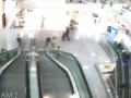 Hero catches escalator fall boy in Turkey - FULL VIDEO