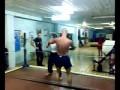 Разборки в спортзале