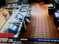 Naked Woman Is On One, Tearing Up A McDonalds In St. Petersburg