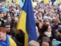 """Школьная линейка в украинской школе: """"Москалей - на ножи! Кто не скачет - тот москаль!"""""""