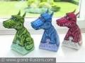 "Оптический обман ""three dragons"""