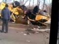 Авария автобусов в Ульяновске