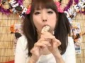 Wow! She ate a japanese fish sausage!! (part.12)
