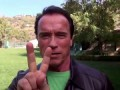 message to the people of the Ukraine from Schwarzenegger