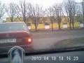 Авария на видеорегистратор Минск//The accident at the DVR Minsk