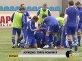 Brutal FIGHT! Frank Temile kicks the crap out of Dynamo Kiev teammate Dmitry Korkishko