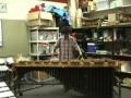 Игра на маримбе