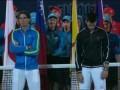 Уставшие теннисисты