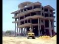 Снос здания в Египте