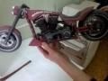 Мотоцикл бумажный
