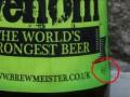 Самое крепкое пиво в мире Snake Venom