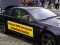 Разбил BMW M6 в знак протеста