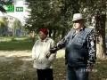Жители Центрального района Челябинска гадают, кто разобрал в их дворе новый игровой городок