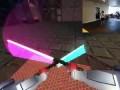 Геймплей со световыми мечами на Oculust Rift DK2