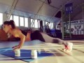 Wow! Beautiful Female workout