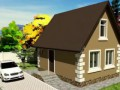 Строительство домов за 14 дней Проекты домов 70 м2. Строительная компания Радом