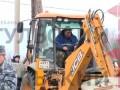Как ОМОН задерживает цыган в Плеханово. Видео