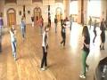 Подготовка к танцевальному флешмобу в Киеве