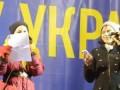 Коломийки про Януковича і Путина! Ирина Карпа на ЄвроМайдан