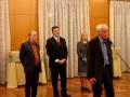 Речь Константина Кедрова в посольстве Республики Сербия