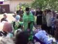 Похороны погибшего ополченца.ЛНР.Поселок Мирный.