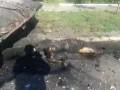 [18++++] Шахтерск. То, что осталось от украинских оккупантов