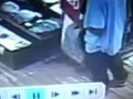 Thief gets surprised